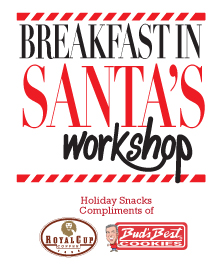 Breakfast in Santa's Workshop