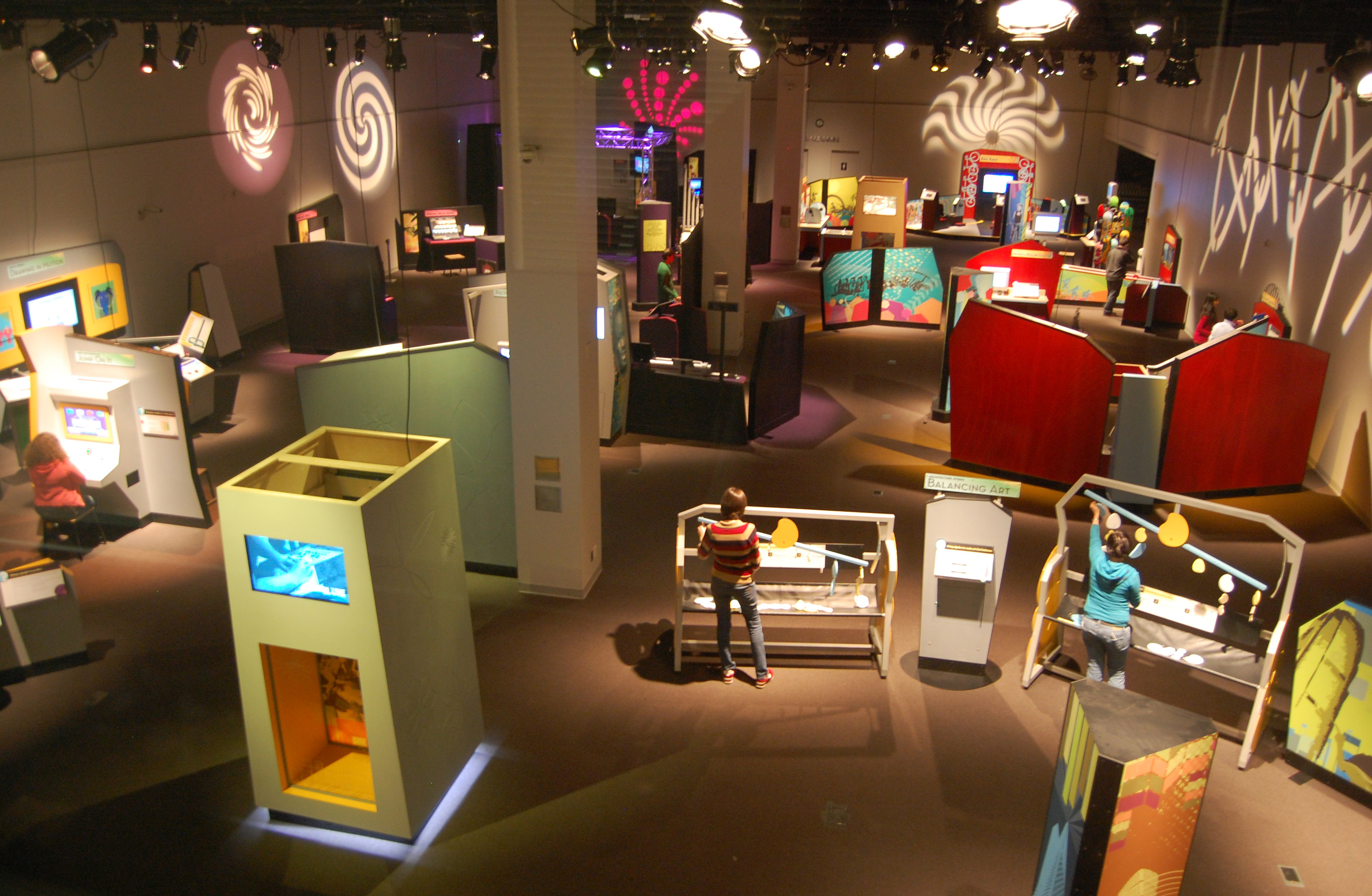 Kids Exhibition Booth : Featured traveling exhibit mcwane science center