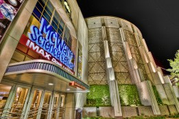Exterior of McWane Science Center at Night