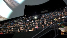 Audience in IMAX Dome Theater