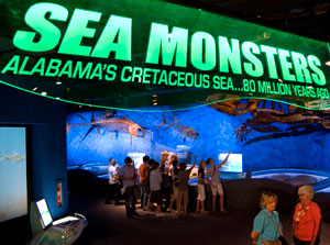 Sea Monsters Exhibit